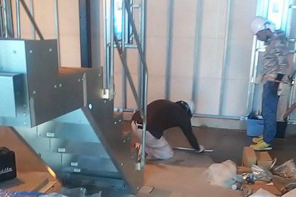 内装工事風景